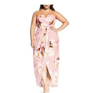 City Chic English Rose Maxi